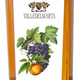 grappa aromatized with peaches