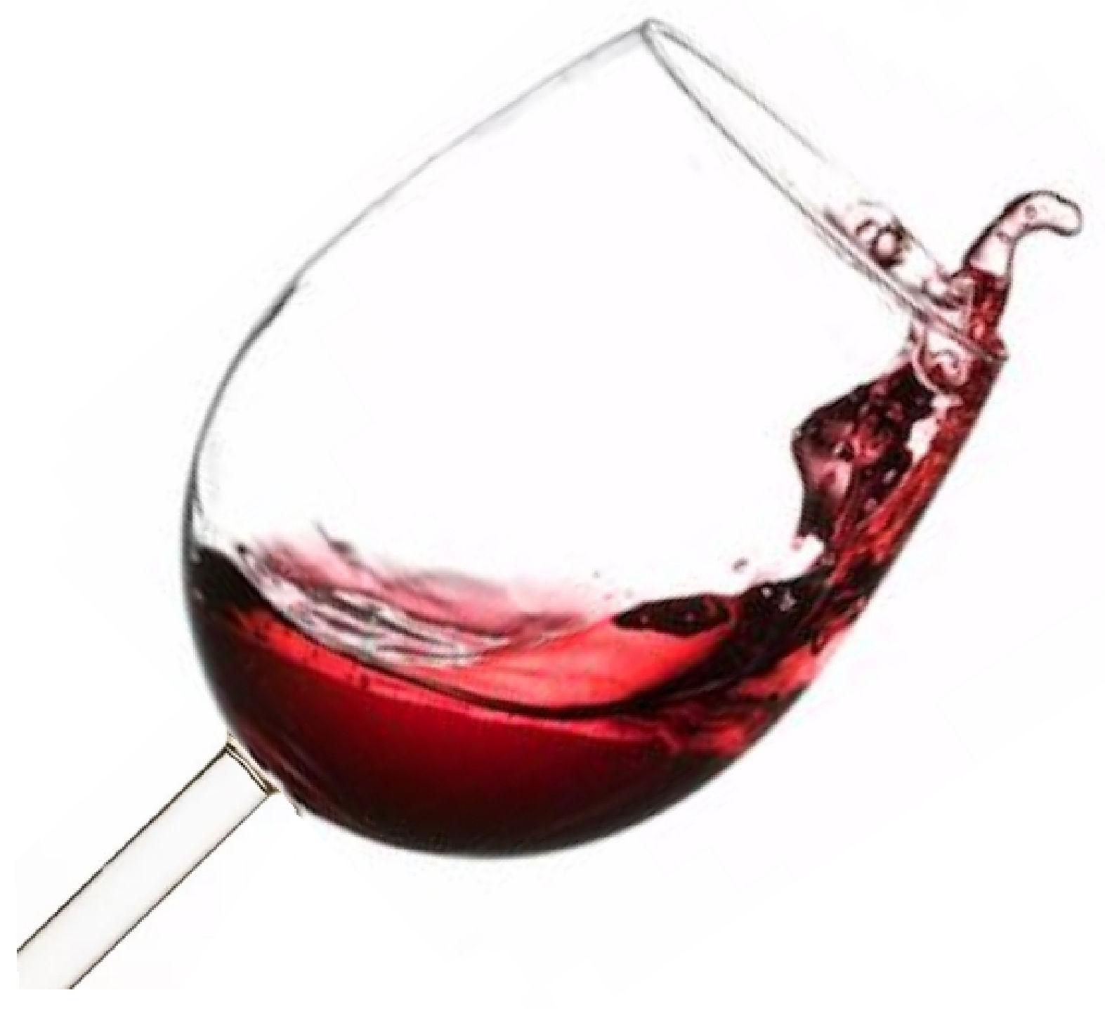 bicchiere vino rosso di tarquinia