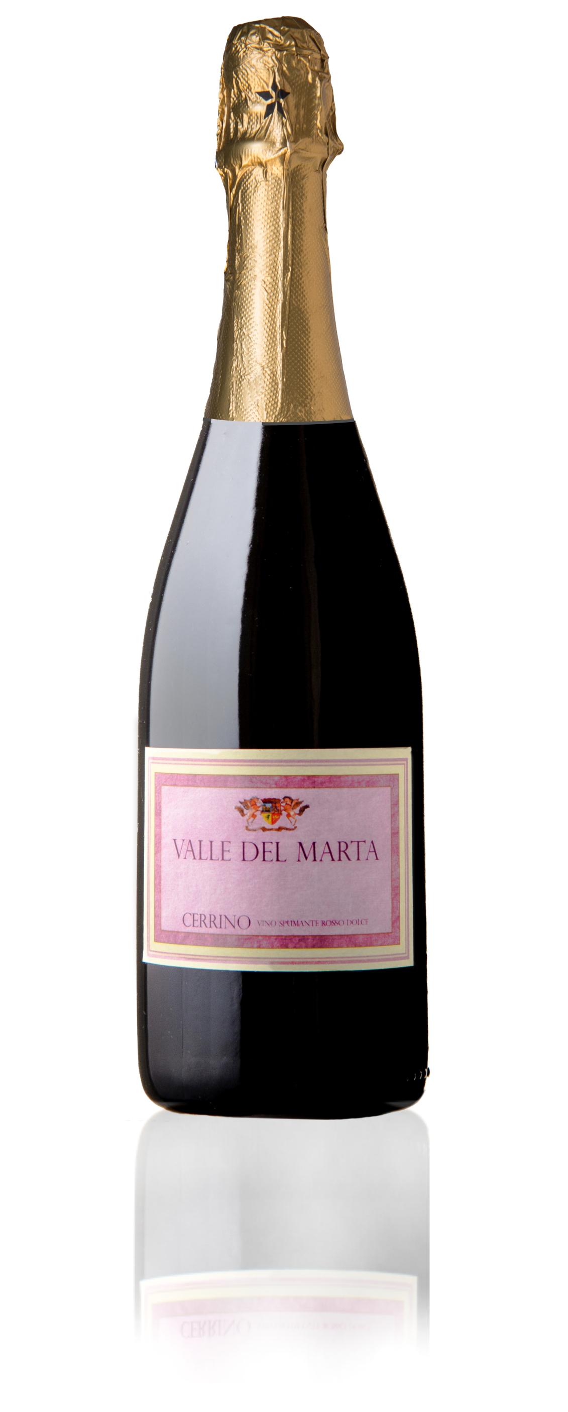 vino spumante dolce rosso cerrino tarquinia