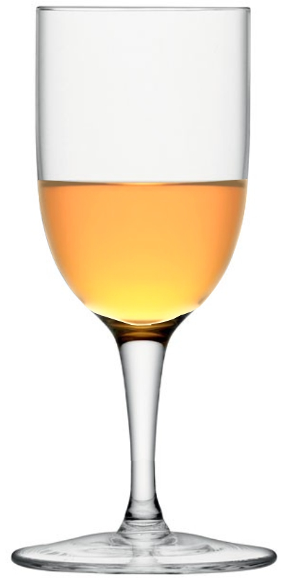 glass orange liqueur