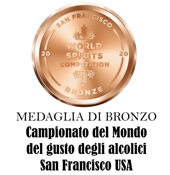 BRONZE san francisco world spirits competition