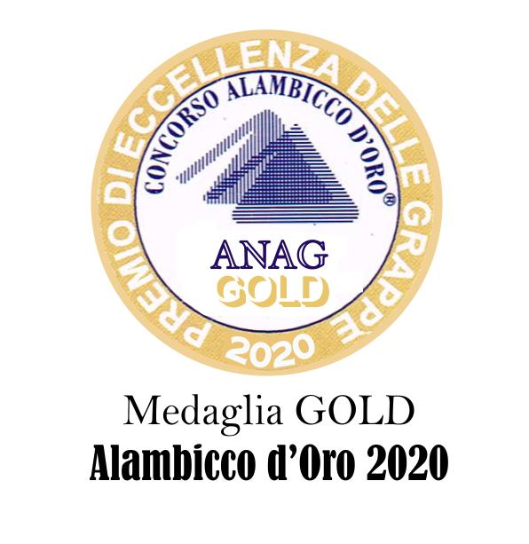 medaglia gold alambicco d'oro 2020