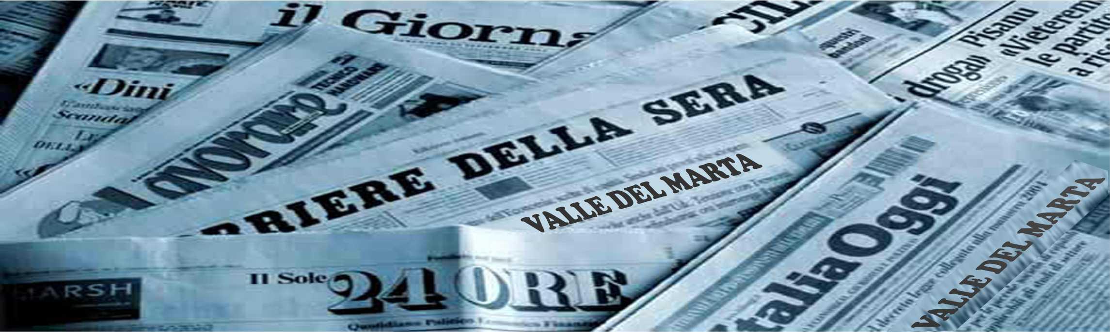 rassegna stampa valledelmarta